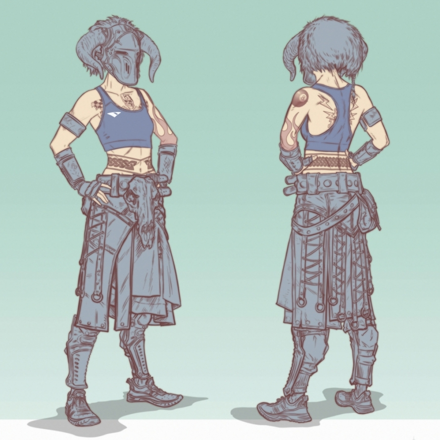 Berserker OutfitFemale